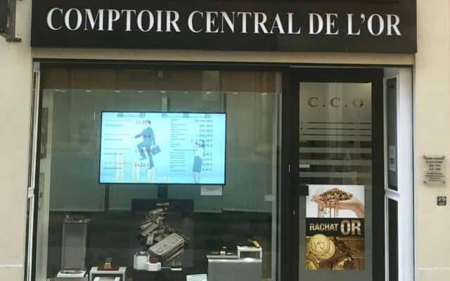 Comptoir Central de L'Or - 54 Rue Paradis 13006 Marseille